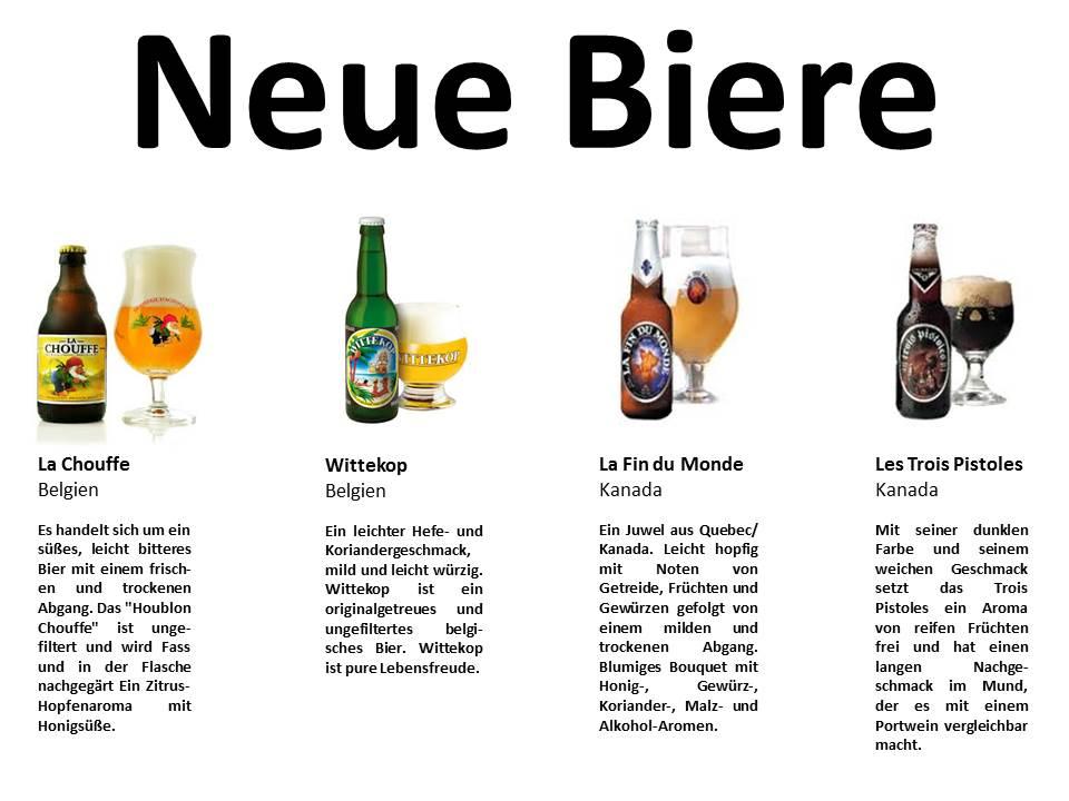 Neue Biere