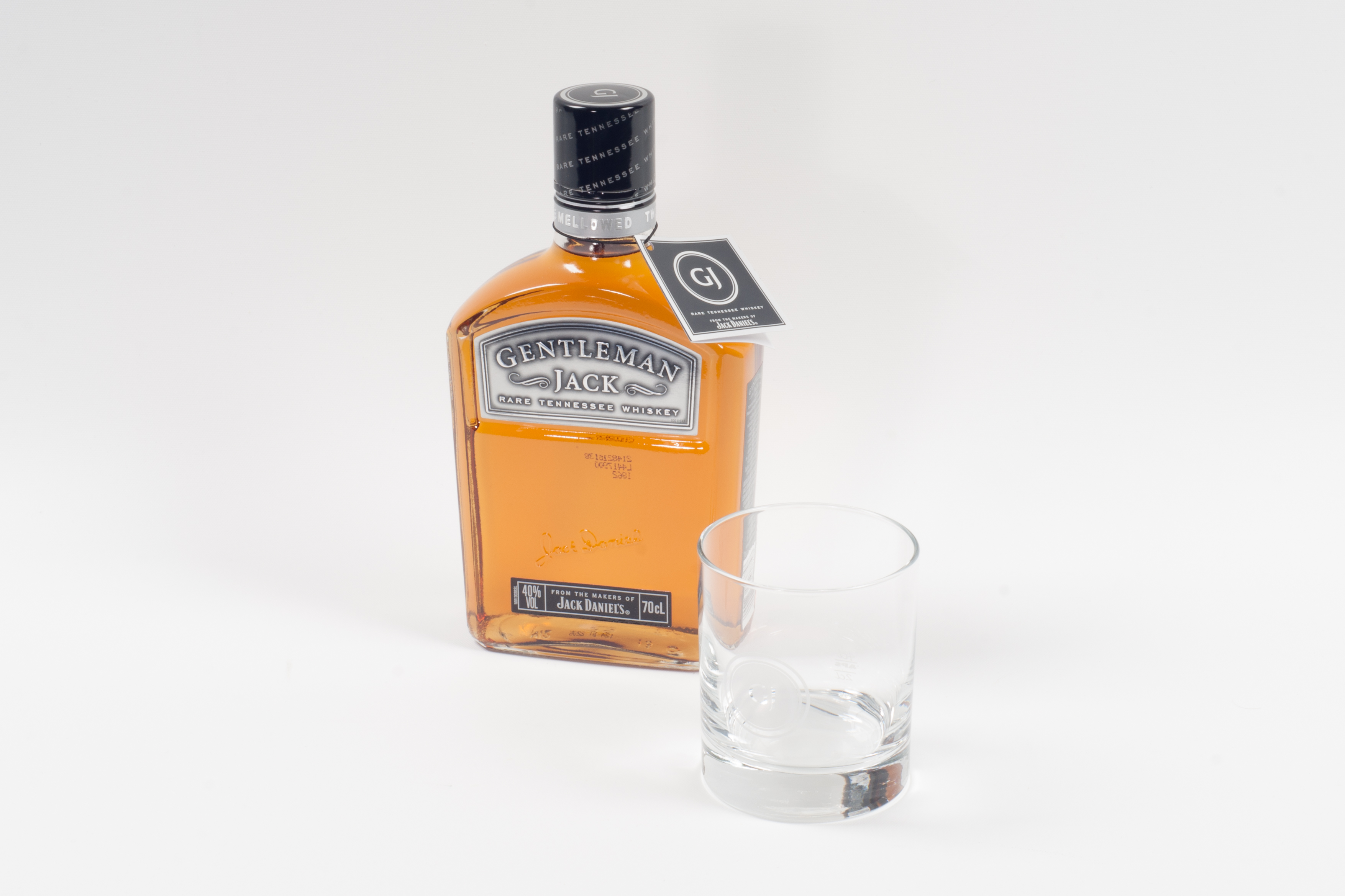whisky jack daniel s gentleman mit glas. Black Bedroom Furniture Sets. Home Design Ideas