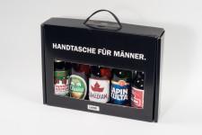 Bier-Handtasche für Männer