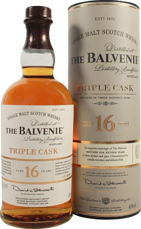 Balvenie triple cask 12-årig single malt